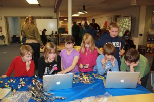 Photo of kids using BoxCar2D