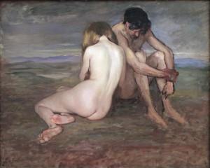 Lothar von Seebach, Adam et Eve