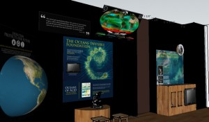 "A screenshot from a virtual tour of the ""Evolution & You"" exhibit. You can watch a short video of the virtual tour here."