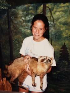 Jen Lau in 1988
