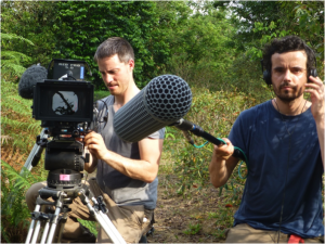 Figure 4. Wildlife filmmakers Benoit Demarle and Nicolas Cailleret