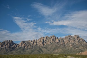 Organ Mountains: one of our field sites.